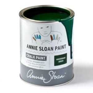 Amsterdam Green farba Annie Sloan