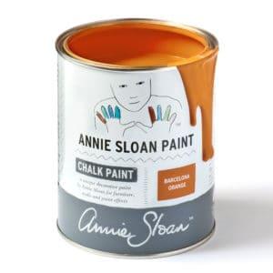 Barcelona Orange farba Annie Sloan