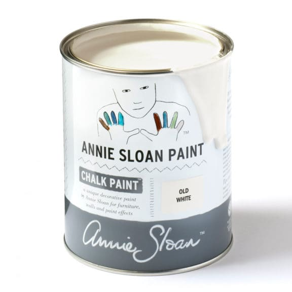 old white farba kredowa Annie Sloan