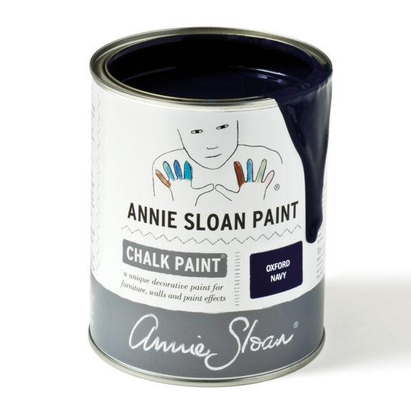 Oxford Navy Farba kredowa Annie Sloan w kolorze ciemnego granatu, indygo