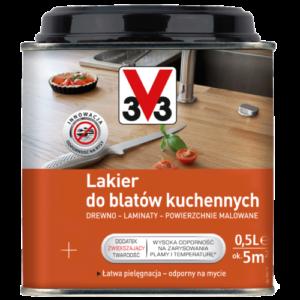 Lakier do blatów kuchennych v33 – 0,5l
