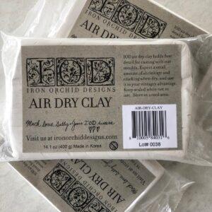 IOD Glinka Air Dry Clay, 400 g do foremek silikonowych