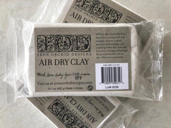 Air Dry Clay glinka IOD
