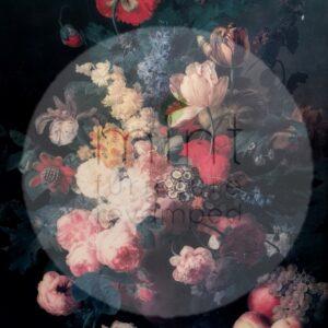Renaissance Flowers – papier do decoupage Mint by Michelle
